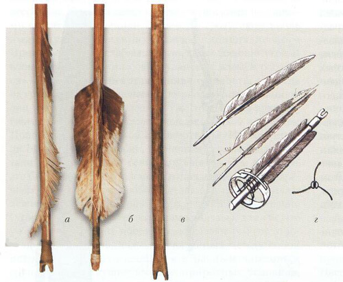 Native Siberain arrows